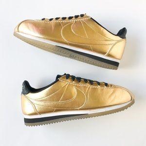 Nike • golden Cortez sneakers